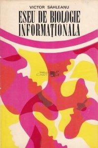 Eseu de biologie informationala