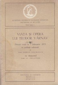 Viata si opera lui Teodor Varnav