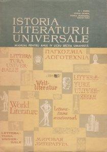 Istoria literaturii universale