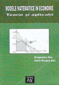 Modele matematice in economie