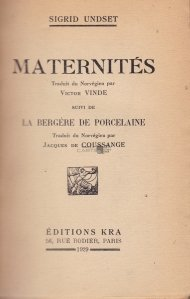 Maternites / Maternitate