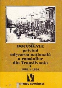 Documente privind miscarea nationala a romanilor din Transilvania