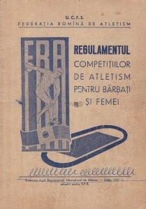 Regulamentul competitiilor de atletism pentru barbati si femei