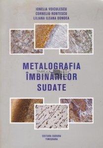 Metalografia imbinarilor sudate