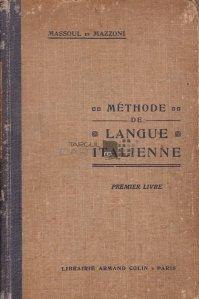 Methode de Langue Italienne / Metoda de lingvistica italiana