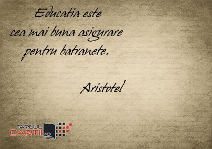 citate despre educatie aristotel Carti Aristotel   targulcartii.ro citate despre educatie aristotel