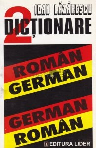 2 dictionare, roman-german, german-roman